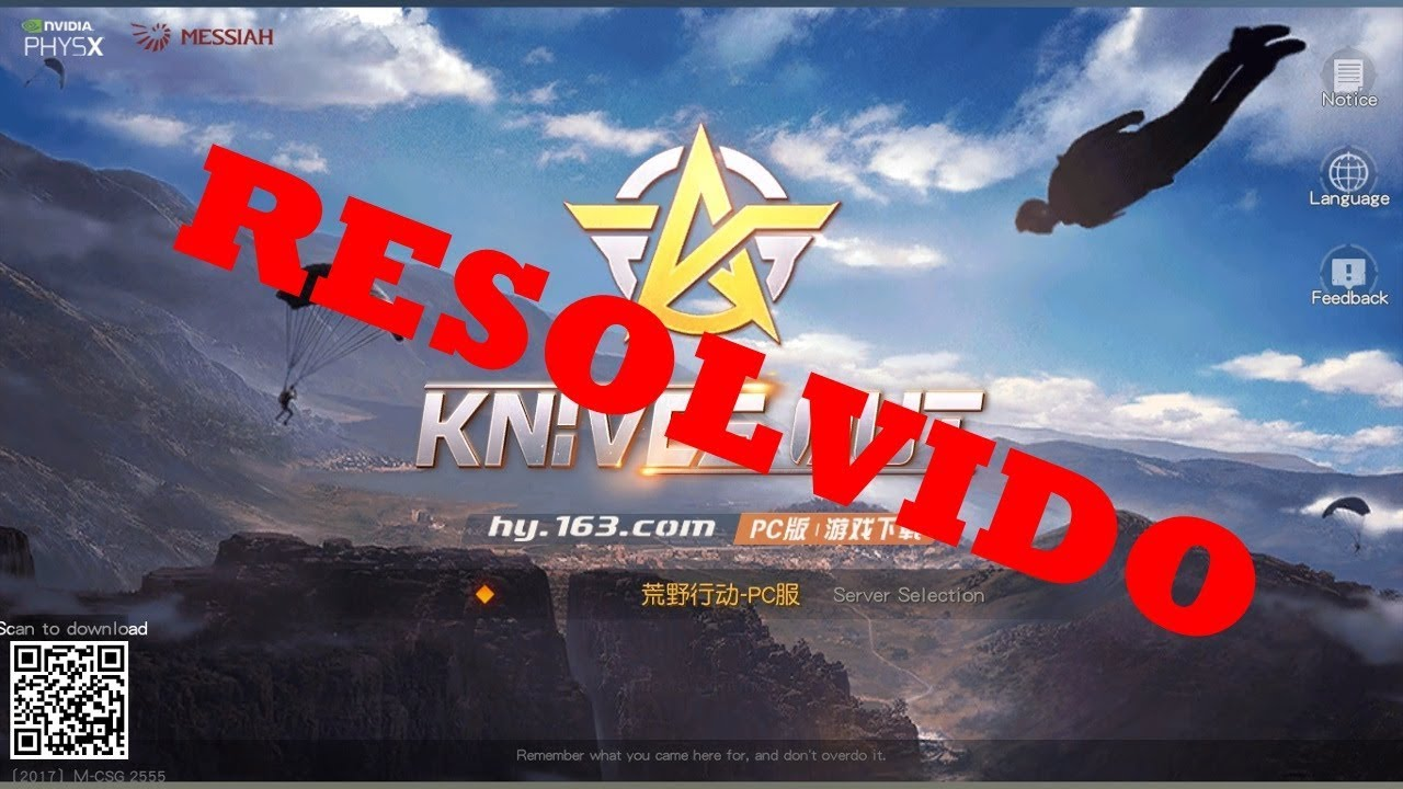 RESOLVIDO KNIVES OUT