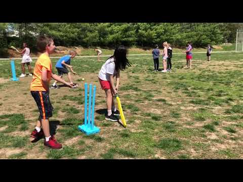 Cricket at Kehrs Mill Elementary School  - Day 2