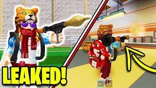 Roblox Jailbreak ROCKET LAUNCHERS UPDATE LEAKED! *NEW UPDATE!*