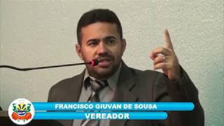 Giuvan Sousa - Pronunciamento Câmara de Quixeré - 09-03-2018