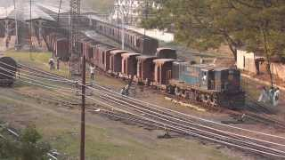YDM4A in Shunting Mode at the Lumding Subsidiary Yard (Feb. 28, 2013)