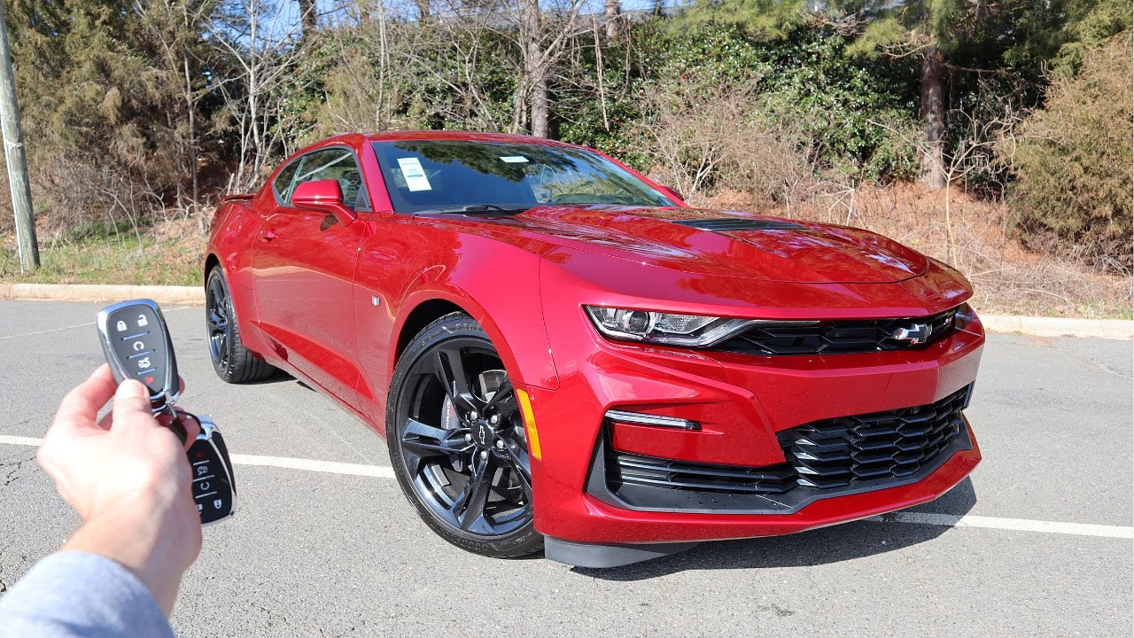 2021 Chevrolet Camaro 2SS: Start Up, Exhaust, Test Drive and Review