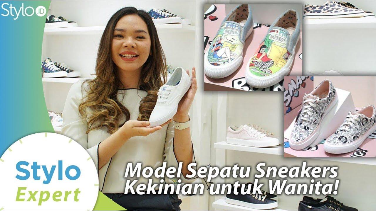 Model Sneakers Wanita Yang Jadi Tren Fashion 2020 Untuk Sepatu