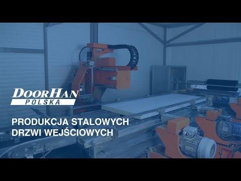 DOORHAN Polska: Produkcja stalowych drzwi wejściowych