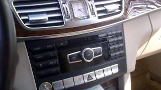 Календарь в Mercedes Benz E 200