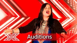 Marianna Zappi chases her dream with Redemption Song  | Auditions Week 2 | The X Factor UK 2016