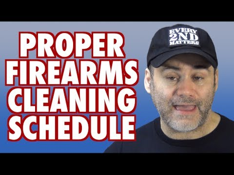 Proper Firearms Cleaning Schedule