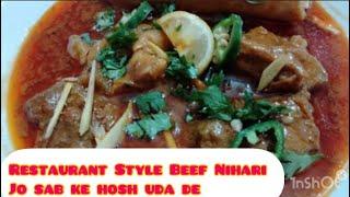 Restaurant Style Beef Nihari J…