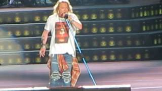 GUNS N ROSES - WELCOME TO THE JUNGLE - LIMA PERÚ Octubre 2016