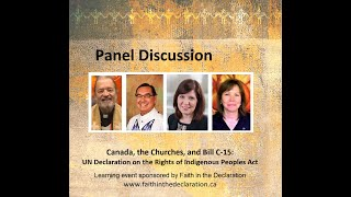 Canada, the Churches, and Bill C-15: Panel Discussion