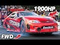 The CRAZIEST FWD car we?ve ever SEEN! (1900hp)