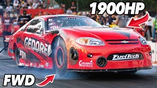 Download The CRAZIEST FWD car we've ever SEEN! (1900hp) Mp3 and Videos