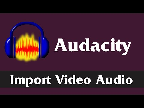 Import & Edit Video Audio in Audacity | Download and Install FFMpeg