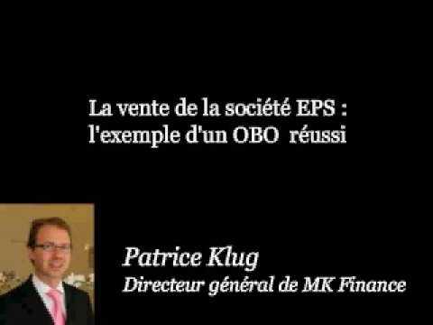 Interview de Patrice Klug, Président de MK FINANCE