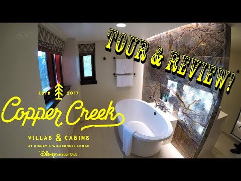 Copper Creek Villas & Cabins (MULTIPLE LOCATION SHOWING) Disney Vacation Club Complete Tour & Review