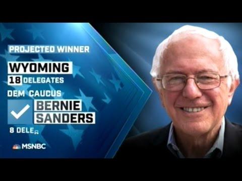 BERNIE SANDERS WINS WYOMING!