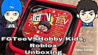 FGTEEV , HOBBY KIDS , ROBLOX UNBOXING // JUNIOR VISION