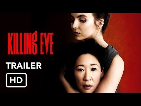 Killing Eve (BBC America) Trailers HD - Sandra Oh, Jodie Comer series