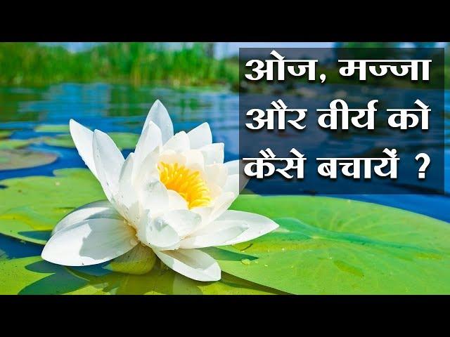 Oj, Majja aur Virya ko kaise bachayen || ओज, मज्जा और वीर्य को कैसे बचाएं