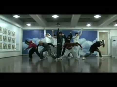TVXQ -  Purple Line (dance practice)