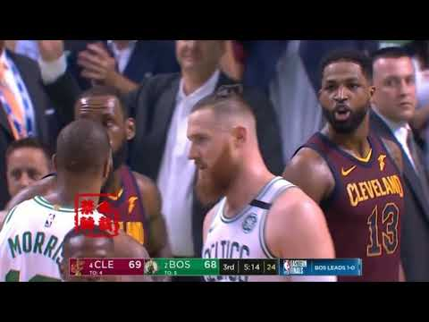 Tristan Thompson & Marcus Morris Fight:Meet Me In The Hallway!