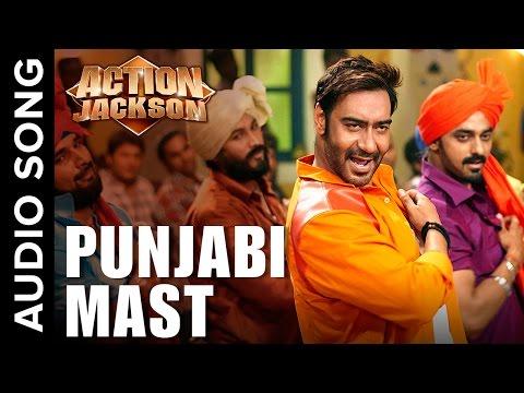 Punjabi Mast (Uncut Audio Song) | Action Jackson | Ajay Devgn & Sonakshi SInha