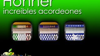 Hohner - Las mejores acordeones para iPad