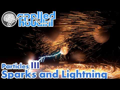 Applied Houdini Particles III - Sparks and Lightning Preview