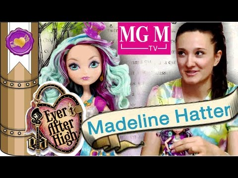 Распаковка Мэделин Хэттер Madeline Hatter Ever After High обзор на русском
