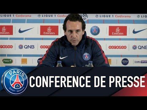 Paris Saint-Germain PRESS CONFERENCE PARIS SAINT-GERMAIN vs MARSEILLE