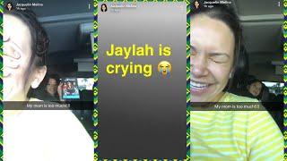 Jaqui Rivera recuerda a su mamá 'JAYLAH ESTÁ LLORANDO' 2/09