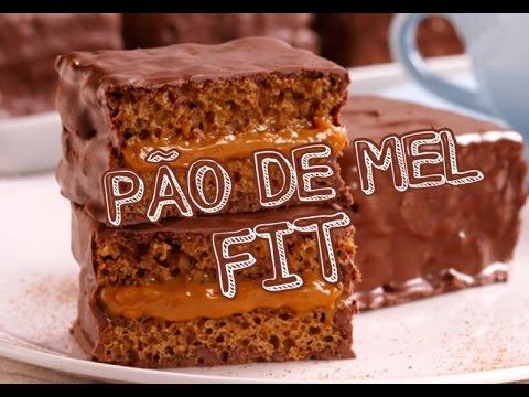PÃO DE MEL FIT MUITO FÁCIL DE FAZER!! - YouTube