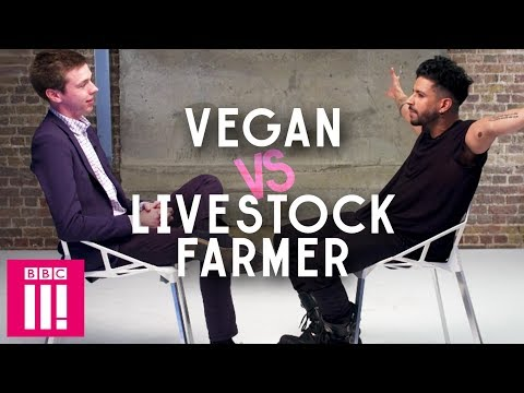Vegan Vs Livestock Farmer | Dont Turn Around