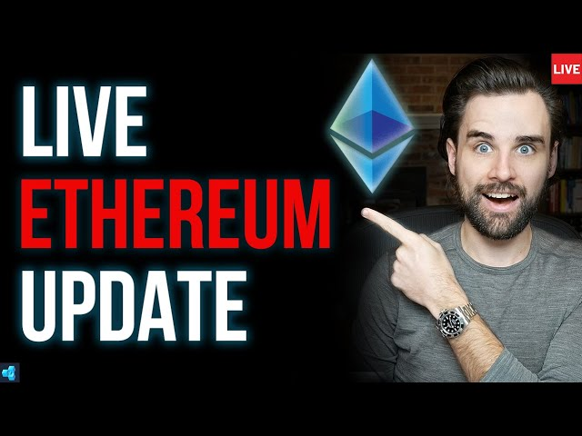 🔴LIVE: Ethereum Sharp Price Drop, What's Next?