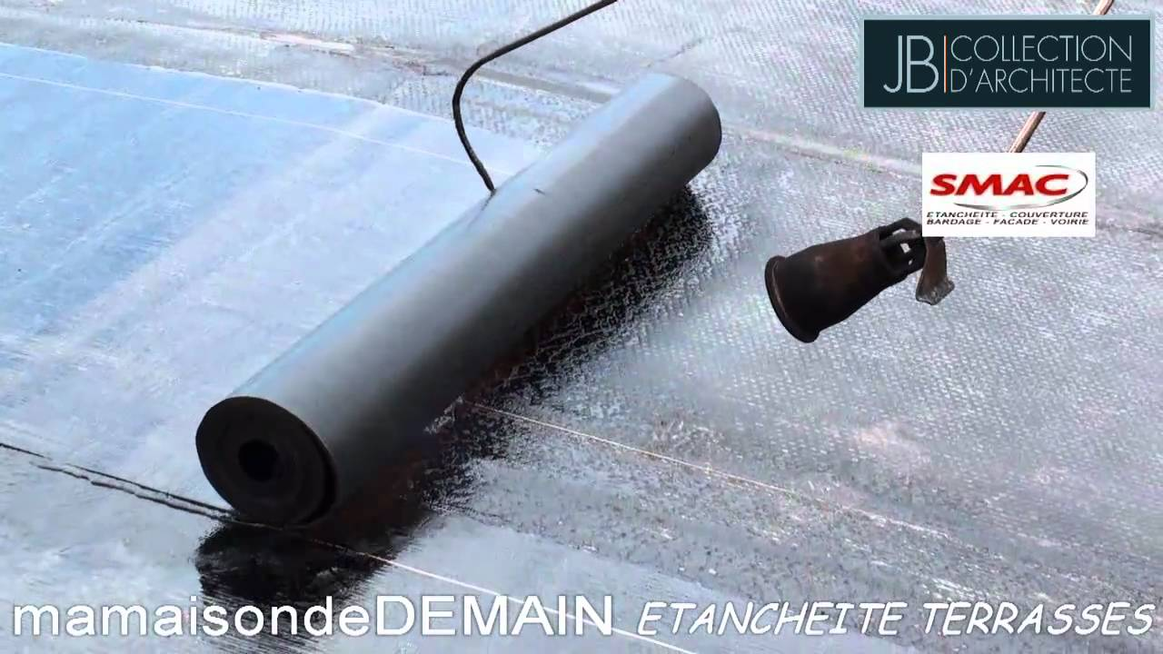 etancheite terrasses.avi - youtube - Comment Faire L Etancheite D Une Terrasse