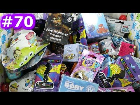 Random Blind Bag Box Episode #70 - ElectroKidEEZ, Minecraft, Charm U, Finding Dory, Grossery Gang