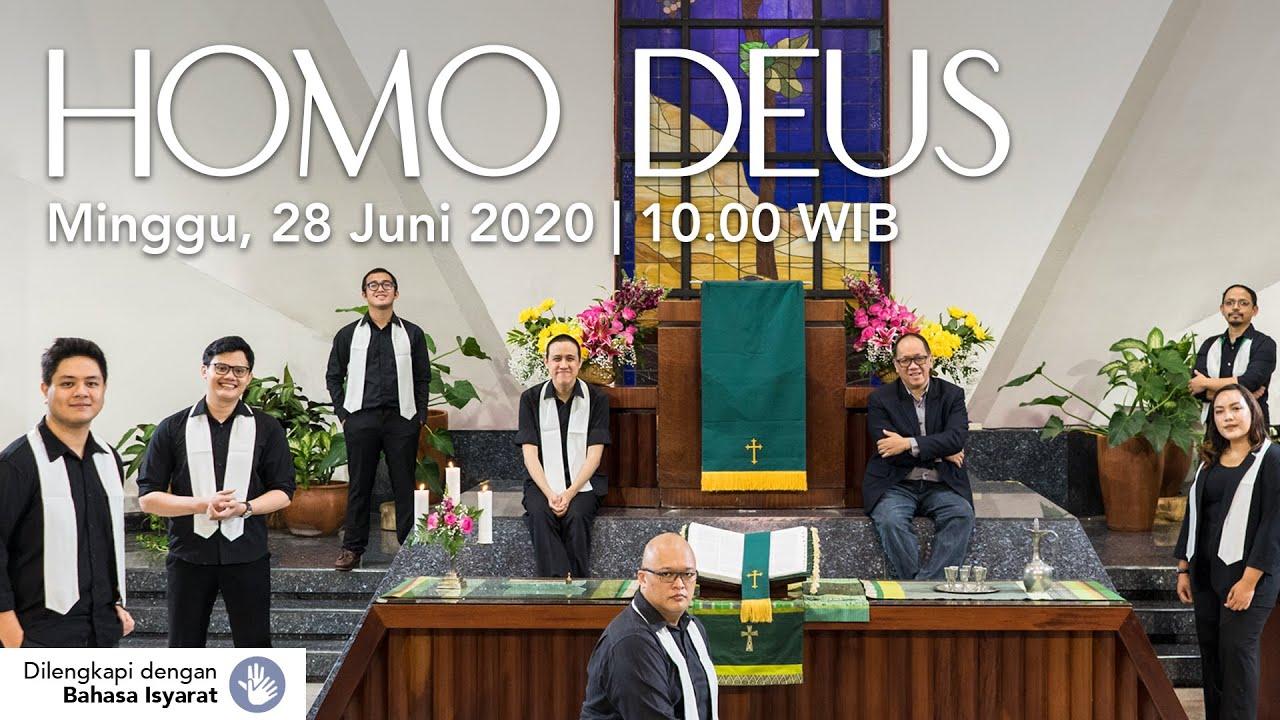 Ibadah Online | Homo Deus - Pdt. Joas Adiprasetya - Minggu, 28 Juni 2020