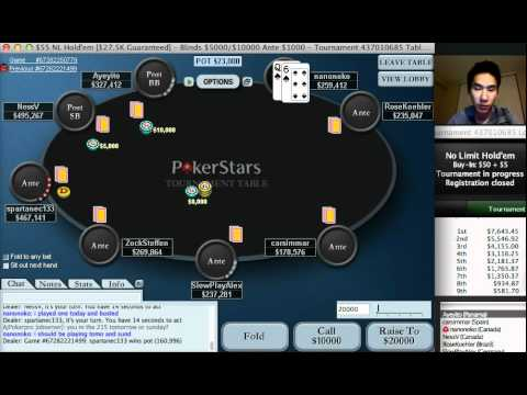 $50 Final Table Commentary with nanonoko (part 1 of 2)
