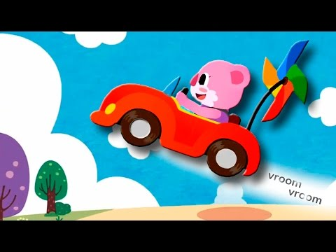 Мультики про машинки - Машинка Зум Зум у видео для детей. Мультик песня.