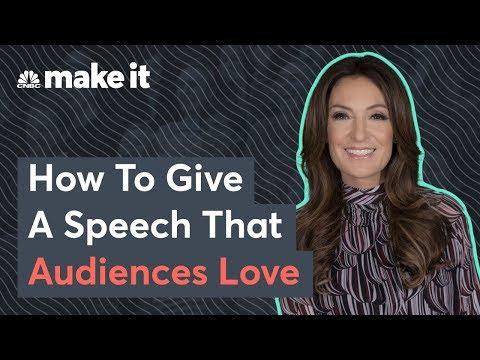 Suzy Welch: The Best Public Speaking Tips