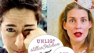 Dunja Hayali bei Uhligs stilles Örtchen