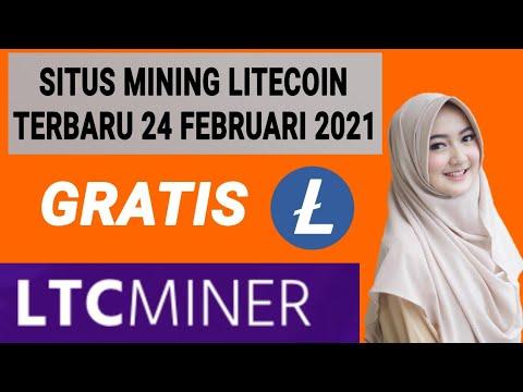 Situs Mining Litecoin Gratis Terbaru