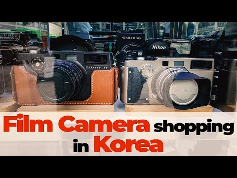 Buying FILM Cameras In SEOUL - A Gearheads Paradise