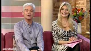 Holly Willoughby Finally Interviews And Kisses Rupert Penry Jones HD