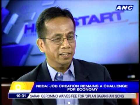 Job creation still a challenge to economy -- NEDA