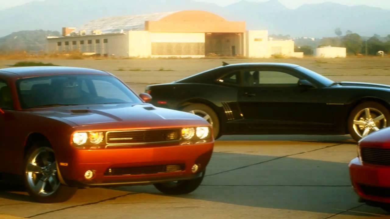 Charger Vs Challenger >> Chevrolet Camaro vs Dodge Challenger vs Ford Mustang vs Hyundai Genesis Coupe: V-6 Comparison ...