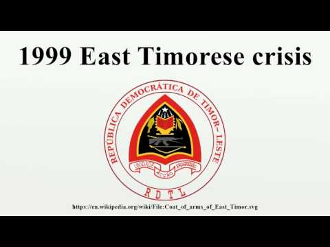 1999 East Timorese crisis