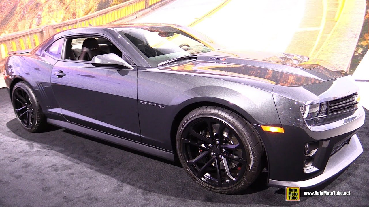 2015 Chevrolet Camaro ZL1   Exterior And Interior Walkaround   2014 LA Auto  Show   YouTube