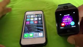 How To Pair Q18 Smart Watch To Iphone