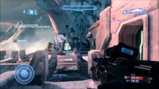HALO The Master Chief Collection - Lockout Map Gameplay Video (EN) [HD+]